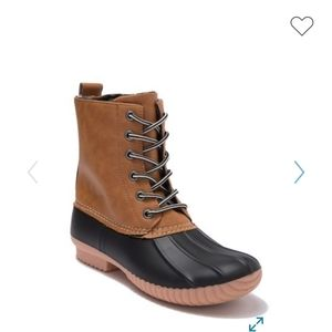 NWT Report Upton Duck Boot Size 8